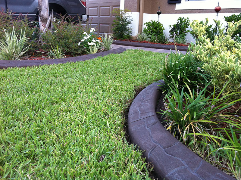 Creating Awesome Landscapes - Jacksonville NC - Amazing Decorative Concrete Landscape Curbing